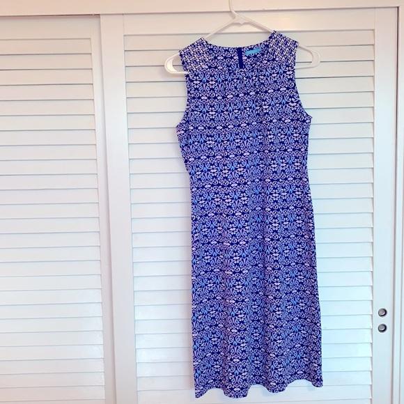 J.McLaughlin summer dress size S scroll pattern